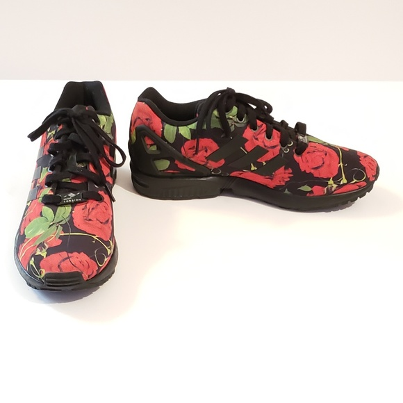 adidas originals zx flux roses